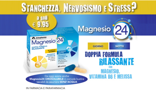 Magnesio 24 Orosolubile